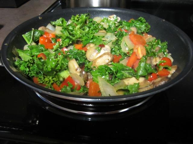Veggie with yum-yum sauce