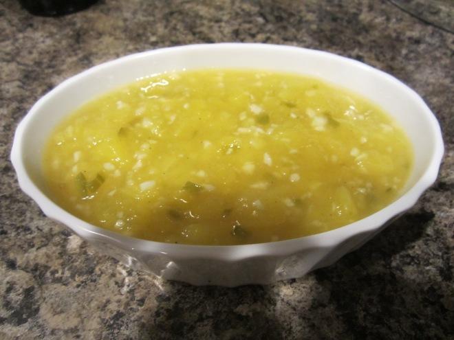 finished mango sour