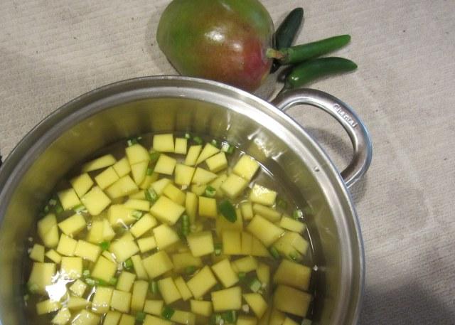mango sour prep