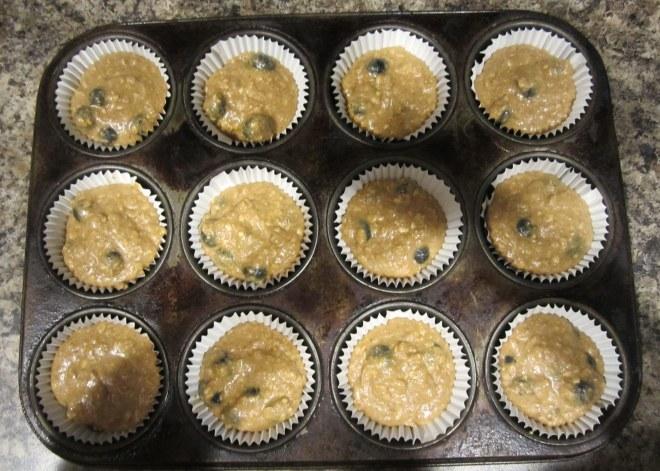 raw muffins