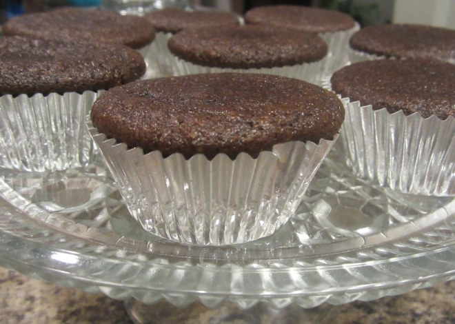 plated muffins