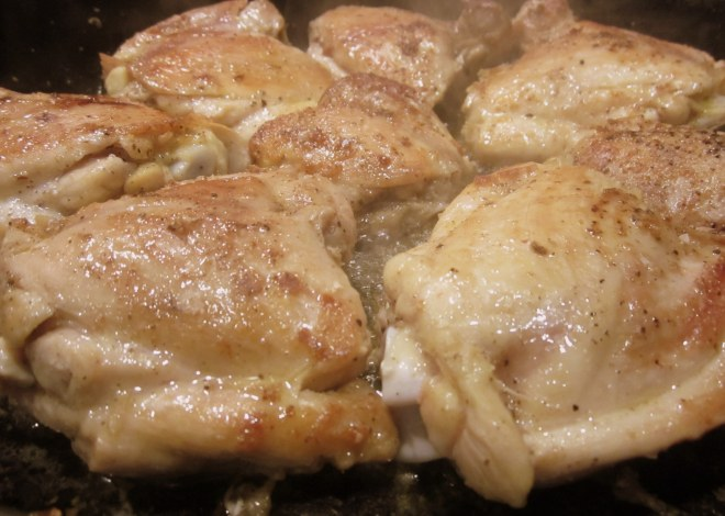 this pic is good too - chicken cooking