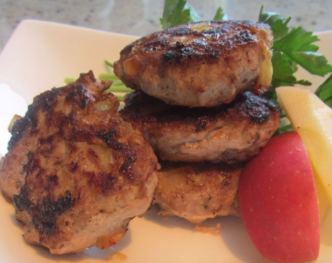 turkey-apple sausage