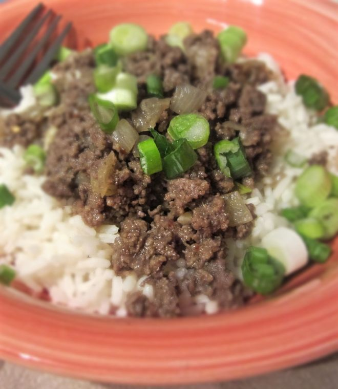 Korean Beef and Rice2