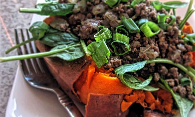 Korean Beef Stuffed Sweet Potatoes2