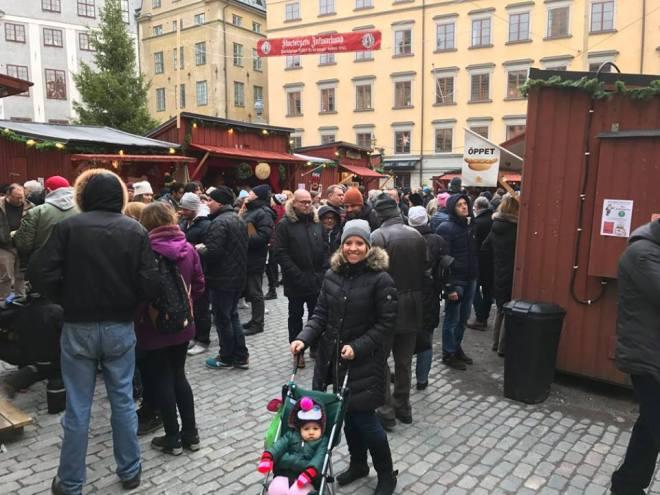 christmas market in sweden