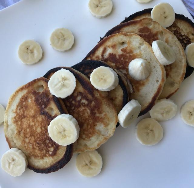 vegan banana pancakes2