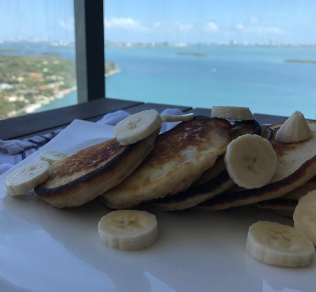 vegan banana pancakes3