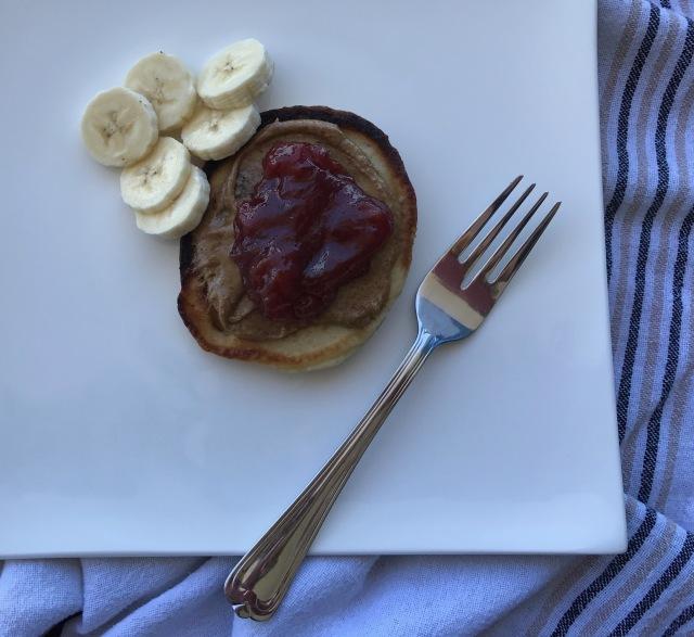 vegan banana pancakes5
