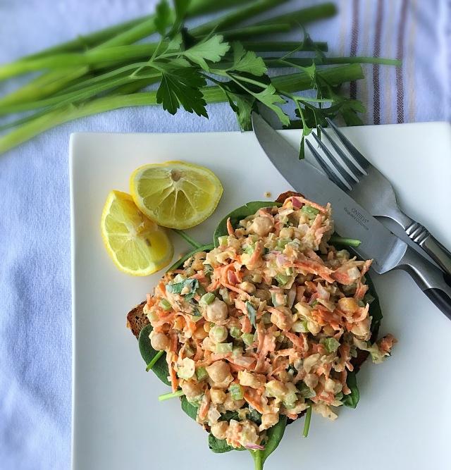 open-faced-faux-tuna-salad