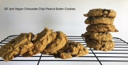 choc chip and peanut butter cookies2