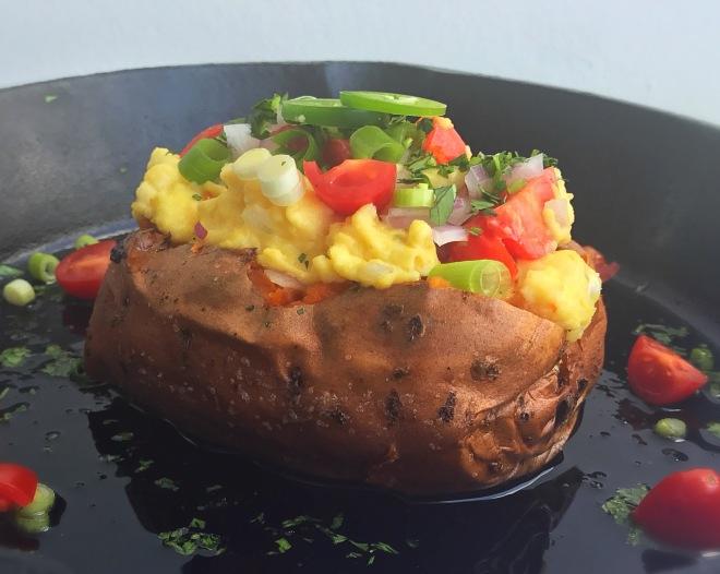 egg stuffed sweet potatoes4