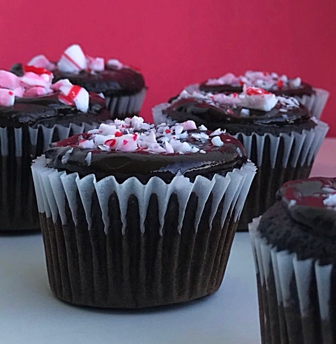 peppermint chocolate cupcakes3