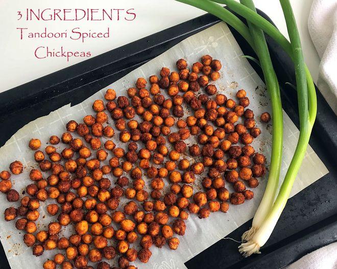 tandoori chickpeas